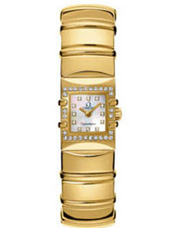 Kvartsi 1141.71.40 Replica Omega Kellot Constellation Ladies Wat