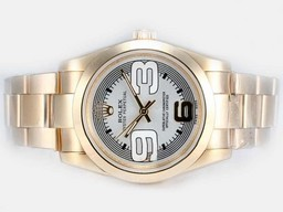 Fake Cool Rolex Air-King Oyster Perpetual Automaattinen Two Tone